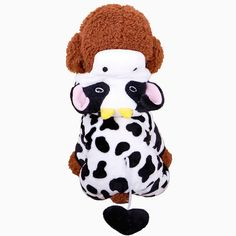Like and Share if you want this  Funny & Cute Dog Cow Costume With Folding Hoodie   Tag a friend who would love this!   FREE Shipping Worldwide   Get it here ---> https://gleepaw.com/funny-four-leg-pet-dog-clotheswarm-soft-fleece-cat-dog-cows-costume-coats-jacketscute-cartoon-pets-outdoor-hoodie-jumpsuit/