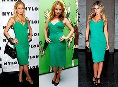 """Perfect holiday dress - Diane Von Furstenberg emerald green """"Benny"""" dress"""