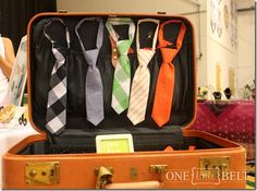 craft booth Ties for boys
