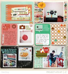 project life week 9 | studio calico kits