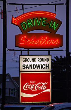 """I love Schallers, they make the best hot dogs with meat sauce...and their onion rings are sooooo delish."