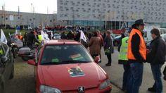 Groningers demonstreren tegen de kabinetsplannen