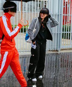Yu Masui and Leaf Greener #PFW #parisfashionweel @smartbuyglasses