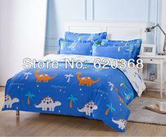 Aliexpress.com : Buy Hot sell 4pcs bedding set duvet cover Bedding sheet bedspread pillowcase, cotton Dinosaur Parkcomforter set/duvet cover set from Reliable duvet cover set suppliers on Yous Home Textile $57.00