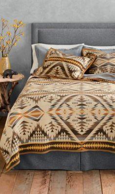 Pendleton Woolen Mills: Diamond Desert Blanket Collection