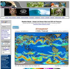 Weather Model - Global Jet Stream Wind and 250 mb Pressure  Mouse-over/click Control Panel buttons (below left) to stop or reverse animation - http://www.stormsurfing.com/cgi/display_alt.cgi?a=glob_250
