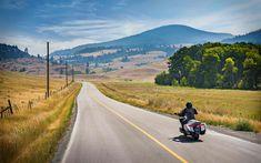 Download wallpapers Honda GL1800 Gold Wing, 4k, biker, 2018 bikes, Honda Gold Wing, road, Honda