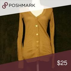 Army brown cardigan No rips, holes or stains. Used Philosophy Sweaters Cardigans