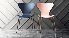 The work of acclaimed designers from the past is being reissued — and revised — to attract a new audience. Arne Jacobsen Series 7 chair, anniversary edition, £523, aram.co.uk Financial Times, Egg Chair, Design Firms, Arne Jacobsen, Classic, Interior, Designers, House, Anniversary