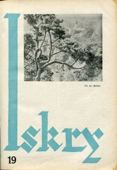Iskry No. 19, 23.04.1932, Y. X Photograph on the cover by Jan Bułhak
