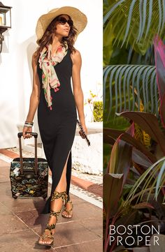 #BPTravel  Destination ANYWHERE...this perfectly packable maxi dress is ready to go wherever your journey takes you.
