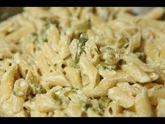 Un viandante in cucina: Ricetta Pasta con crema agli asparagi
