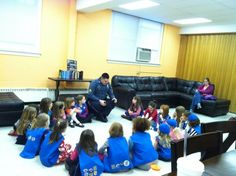 Ideas to engage girl scouts as they learn what it means to respect authority and earn their magenta daisy petal