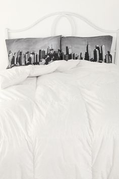 NYC Skyline Pillowcase Set