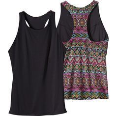 Patagonia Sideshore Tankini Top (98 NZD) ❤ liked on Polyvore featuring patagonia