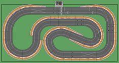 New Digital Track Designs - Page 3 - Tracks & Scenery - SlotForum - Page 3 Go Kart Racing, Slot Car Racing, Slot Car Tracks, Slot Cars, Rc Cars, Race Tracks, Scalextric Digital, Scalextric Track, Rc Car Track