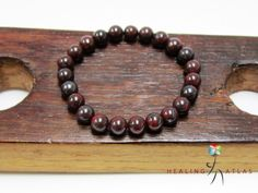 """Thanks for the kind words! ★★★★★ """"This is a great piece, was very happy to receive this beautiful piece."""" Ernest http://etsy.me/2jzKU8e #etsy #jewelry #bracelet #red #brown #birthday #round #girls #lovefriendship #christmas"""