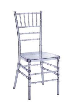 PANGEA/home  Chiavri Chair - Clear  $119.00  www.hautelook.com