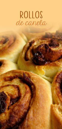 Prepara los Rollos de Canela más ricos con esta receta, recuerda que se disfrután más recién salidos del horno y acompañalos con un Café, Capuccino o un vaso de Leche fría. Esta receta rinde para hacer 16 rollos aproximadamente.