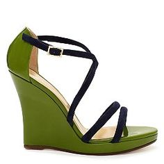 Kate Spade wedges. Yes, please. If I bought three-hundred dollar shoes.