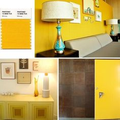 Pantone Most Influential Color of 2009... — ...and examples from Los Angeles House Tours