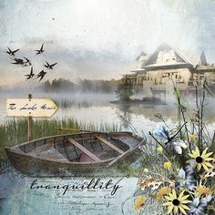 The Lake House  by G & T Designs https://www.e-scapeandscrap.net/boutique/index.php?main_page=product_info&cPath=113_189&products_id=10631#.VC9-MvldXKe