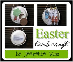 awesome Easter idea, with parts for Friday, Saturday, and Sunday, for when the kids are a little older