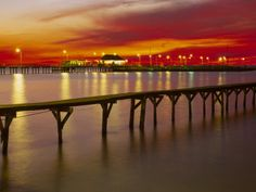 A look at the Fairhope Pier Fairhope, Alabama...
