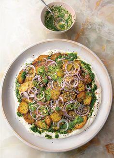 Ottolenghi Recipes, Yotam Ottolenghi, Indian Food Recipes, Vegetarian Recipes, Ethnic Recipes, Veggie Recipes, Delicious Recipes, Chaat Masala, New Cookbooks