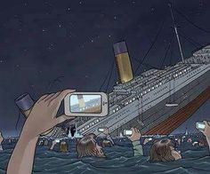 People nowadays.