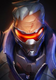 Soldier 76 by MaxGrecke.deviantart.com on @DeviantArt