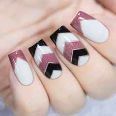 Long Square Nails Popular Classical Manicure #squarenails #longnails #stripenails #frenchnails #frenchtips ★ All the nail shapes from almond to coffin, from round to stiletto all gathered here! ★ See more: https://glaminati.com/nail-shapes-guide/ #glaminati #lifestyle #nails #nailart #naildesigns #nailshapes