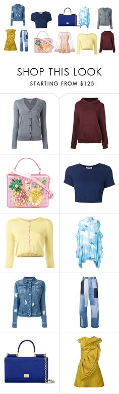 """great collection"" by monica022 ❤ liked on Polyvore featuring Burberry, CITYSHOP, Dolce&Gabbana, Sea, New York, P.A.R.O.S.H., Natasha Zinko, Versus, Off-White, Christian Siriano and Zuhair Murad"