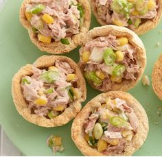 Tip-top tuna tarts
