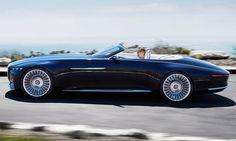 Vision Mercedes-Maybach 6 Cabrio (2017)