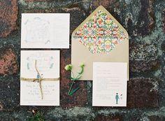 Convite. Envelope lindo!