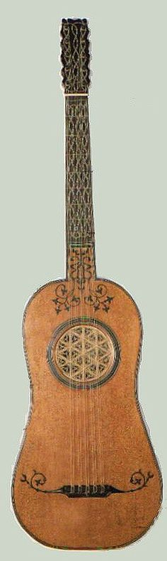 Classical Guitars Throughout History. A Pictorial history of the evolution of the guitar.