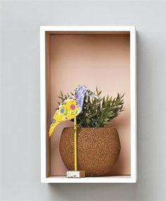 Las plantas quedan genial en los maceteros de #corcho #preservalobueno