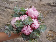 bouquet da sposa peonie