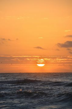 Beautiful sunset in on the beach at Perdido Key, FL.