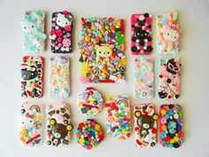 Decoden, iPhone Case Addiction, Deco Addiction!  Cabochons & cases available: www.themintbeadery.etsy.com