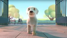 Animation by Southeastern Guide Dogs - Music created by Marshmello and Bastille Happy Music Video, Music Videos, Best Short Films, Movie Talk, Film D'animation, Chinese Movies, Guide Dog, Service Dogs, Little Dogs