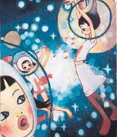 Aya Takano Pretty Art, Cute Art, Japanese Contemporary Art, Japanese Art, Illustrations, Illustration Art, Aya Takano, Superflat, Funky Art