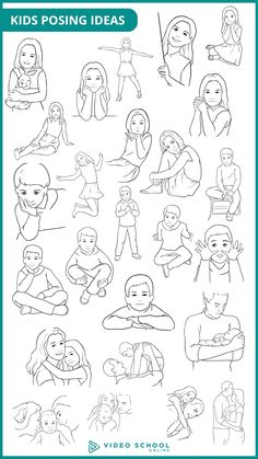 25 posing ideas for kids. These 25 poses will be perfect for your next portrait photo shoot.