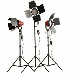 3 x 800W Red Head Redhead light Continuous Lighting: Amazon.co.uk: Camera & Photo