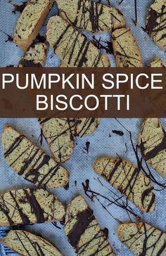 Pumpkin Spice Biscotti #PumpkinWeek