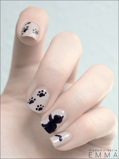 Choice nail art http://www.pinterest.com/Seeourfashion/