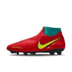 78f43e14aa2f3 Nike Phantom Vision Elite FG iD Firm-Ground Football Boot Chuteiras De  Futebol, Chuteiras