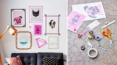 look pimp your room bilder bilder walls frames co pinterest w nde. Black Bedroom Furniture Sets. Home Design Ideas