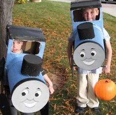Thomas the Tank Engine! Cheap and Easy DIY Kids' Halloween Costumes | LearnVest